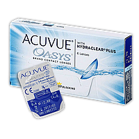 Контактные линзы Acuvue Oasys (6 блистеров) -1.0