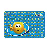 Доска для лепки Hatber А4ф Пластиковая 298*197мм -Веселые смайлики- для мальчика (Колобанга)