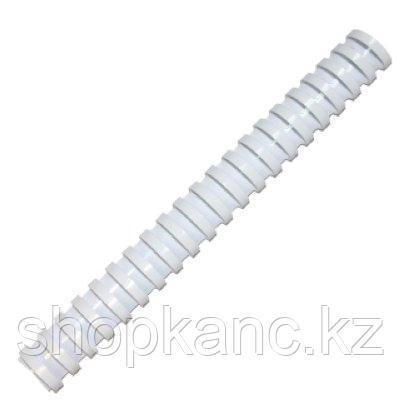 Пружина для переплета пластиковая 25 мм. Fellowes, белый, 50 штук/в упаковке.