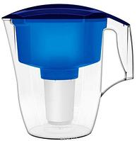 "Кувшин для воды Аквафор ""Кантри"", цвет: синий, прозрачный, 3,9 л"