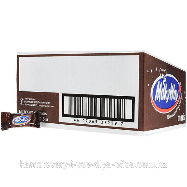 Milky Way Минис шоколадный коктейль, 1 кг.