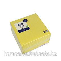 Салфетки 2-сл 33 cm желтые (125x16), фото 3