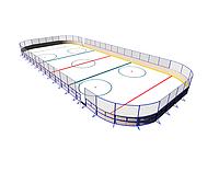 Хоккейный корт 20*40м