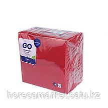 Салфетки 2-сл 33 cm красные (125x16), фото 2