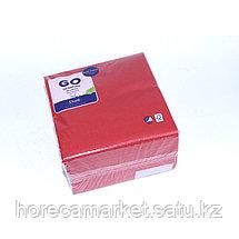Салфетки 2-сл 33 cm красные (125x16), фото 3