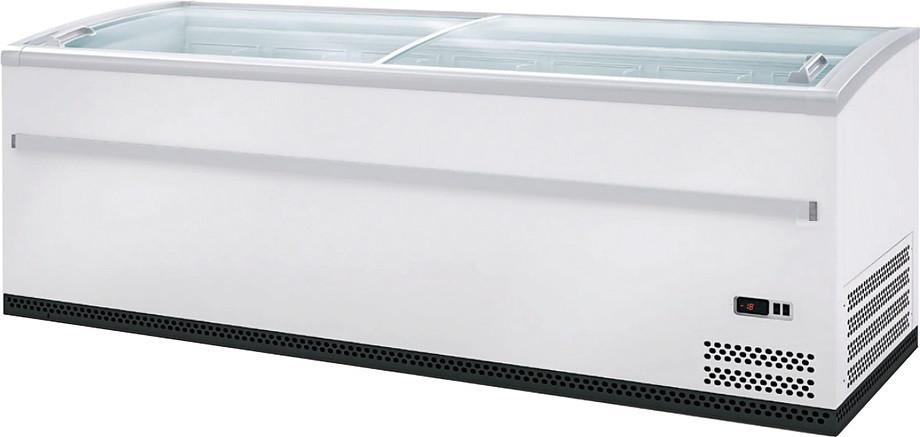 Холодильная витрина Polo model L 200 HT/СТ RAL 9016 белая