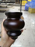 Ножка мебельная, деревянная. 12 см