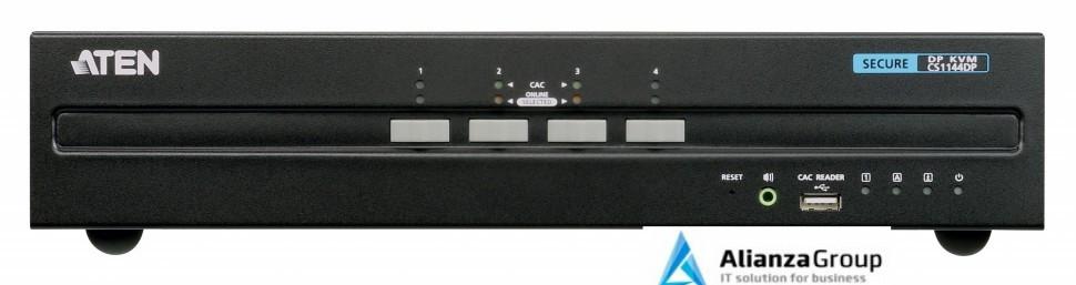 Защищенный KVM переключатель ATEN CS1144DP / CS1144DP-AT-G