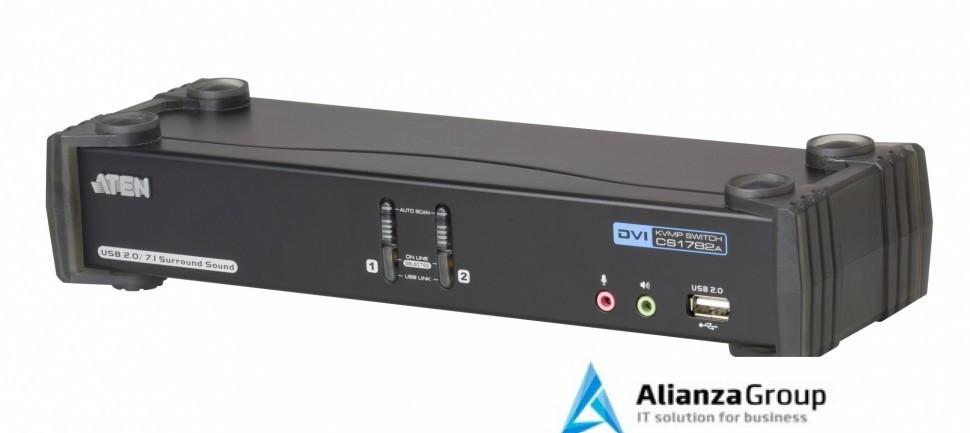 Настольный KVM Переключатель ATEN CS1782A / CS1782A-AT-G