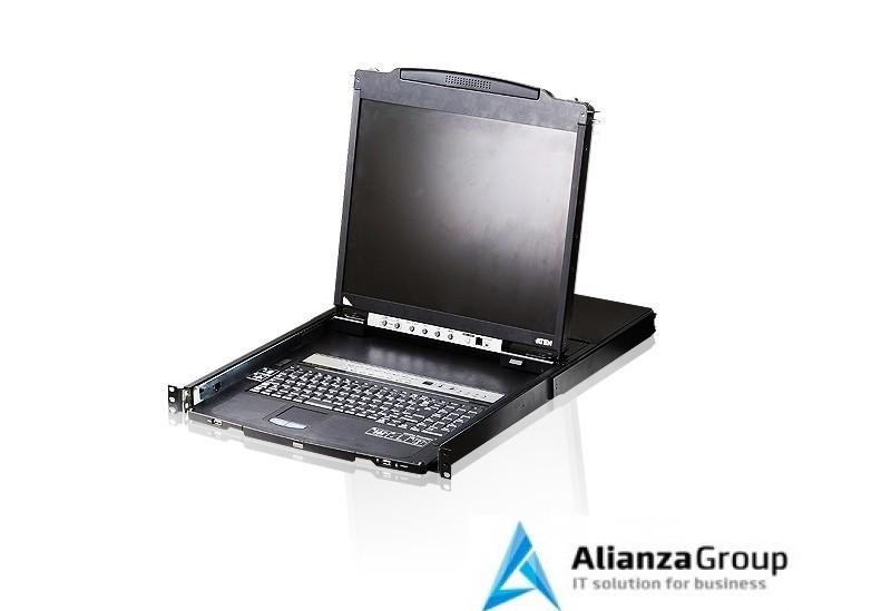 KVM консоль с переключателем ATEN CL5808N / CL5808N-ATA-RG