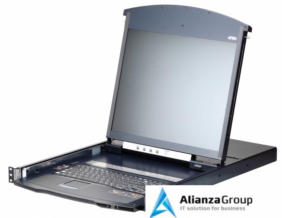 KVM консоль с переключателем ATEN KL1108VN / KL1108VN-AXA-RG