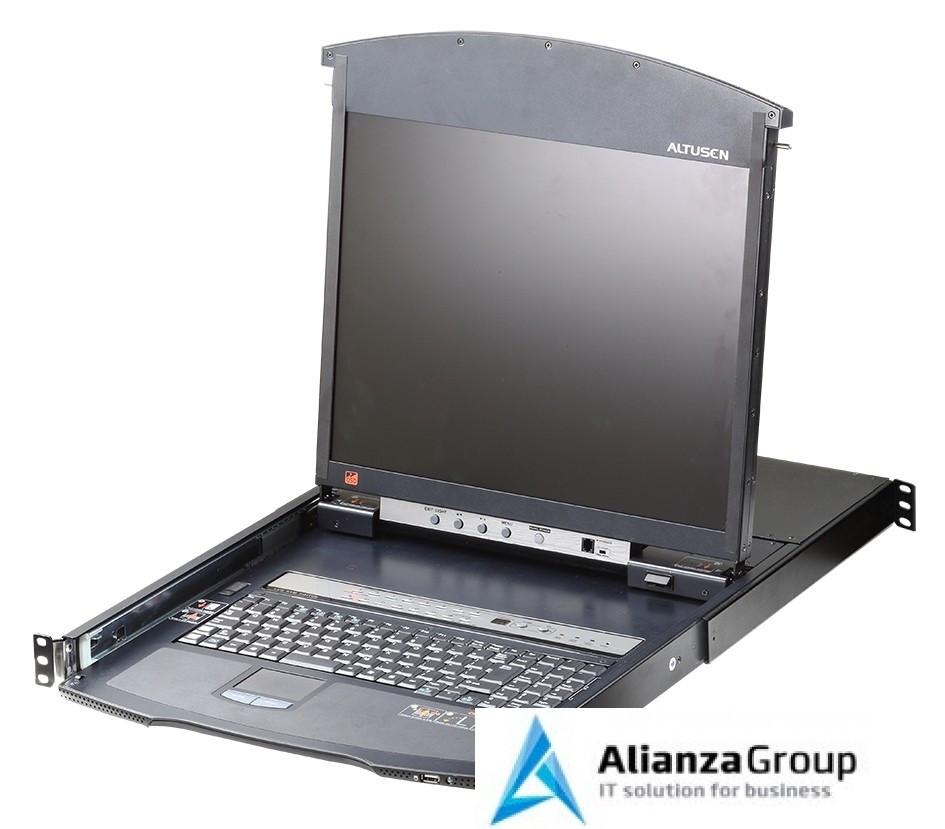 KVM консоль с переключателем ATEN KL1516AiN / KL1516AiN-AXA-RG