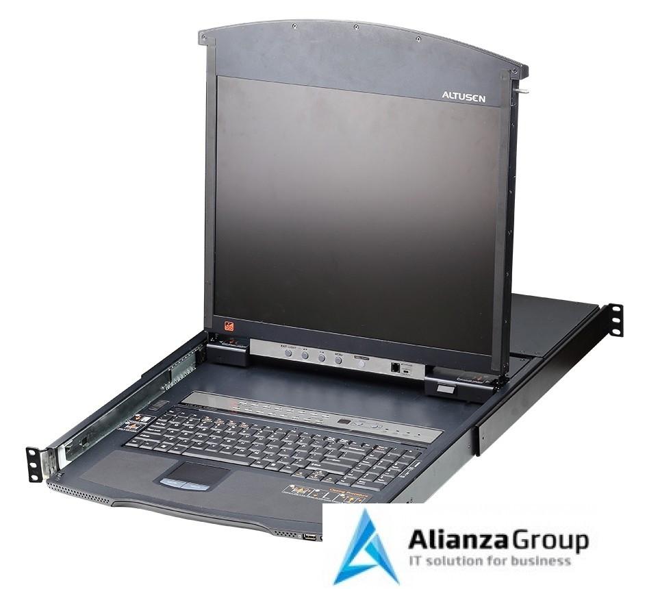 KVM консоль с переключателем ATEN KL1516AN / KL1516AN-AXA-RG