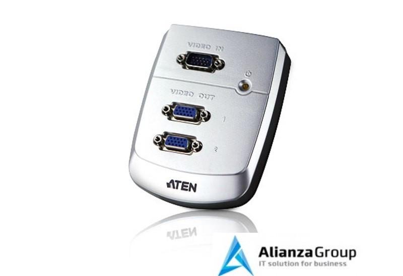 Настенный разветвитель VGA ATEN VS82 / VS82-AT-G