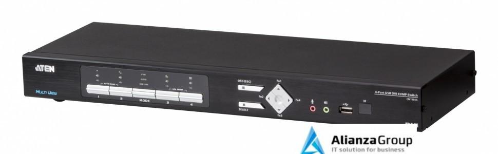 Настольный KVM переключатель ATEN CM1164A / CM1164A-AT-G