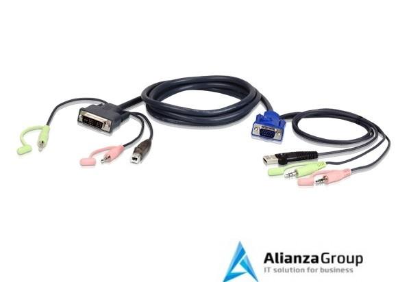 KVM кабель ATEN 2L-7DX3U / 2L-7DX3U