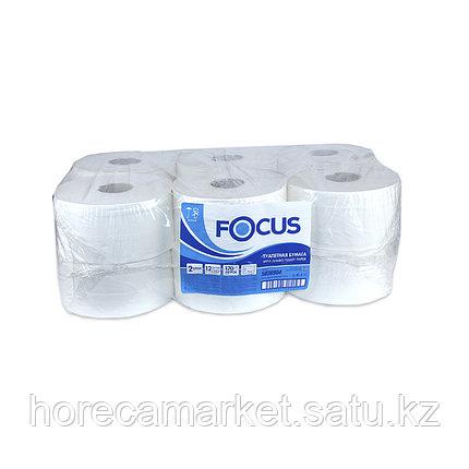 Туалетная бумага Focus мини рулон 2 сл. 12 рул по 168м, фото 2