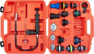 (RPTS18) Набор для тестирования герметичности системы охлаждения, 18 предметов