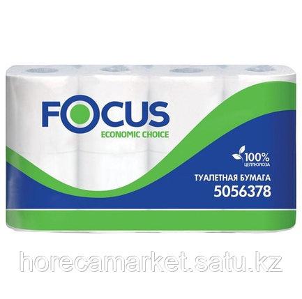 Туалетная бумага Focus Economic 2сл 8x8рул., фото 2
