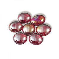 Марблс Прозрачный Красный Бриллиант 16-18мм, 360гр.