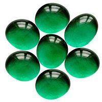 Марблс Изумрудный Зеленый Кристалл 16-18мм, 360гр.
