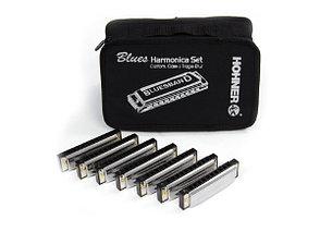 Комплект губных гармошек Hohner Blues Band Harmonica set