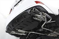 Диффузор на задний бампер Лексус IS 2012-