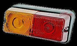Фонарь задний левый (поворот/габарит/стоп-сигнал) ФП-209П-левый (МТЗ, ЮМЗ, Т-16, Т-25, Т-40)
