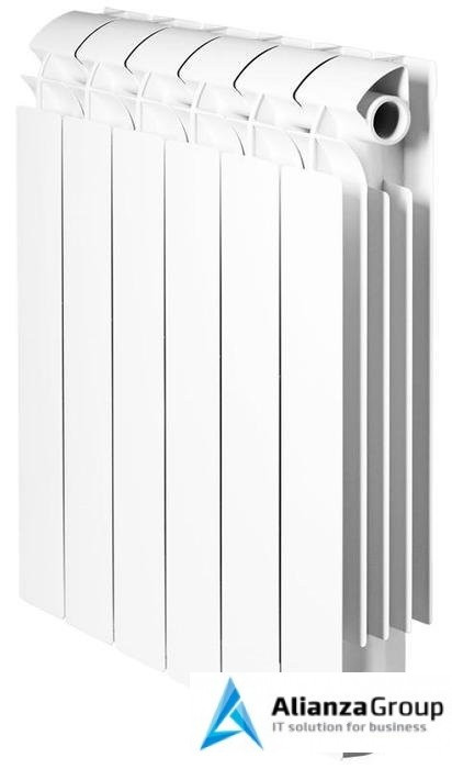 Алюминиевый радиатор Global Vox 500 6 секц.