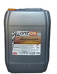 Моторное масло ONZOIL 20W50 SG/CF 28.0