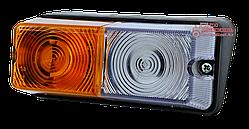 Фонарь передний правый/левый (поворот/габарит) ФП-204П (МТЗ, ЮМЗ, Т-16, Т-25, Т-40)