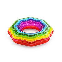 Круг для плавания BESTWAY Rainbow Ribbon 12+ (36163, 115 см, Винил), фото 1