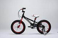 """ROYAL BABY Велосипед двухколесный BULL DOZER 16"""" Черный BLACK RB16-23"""