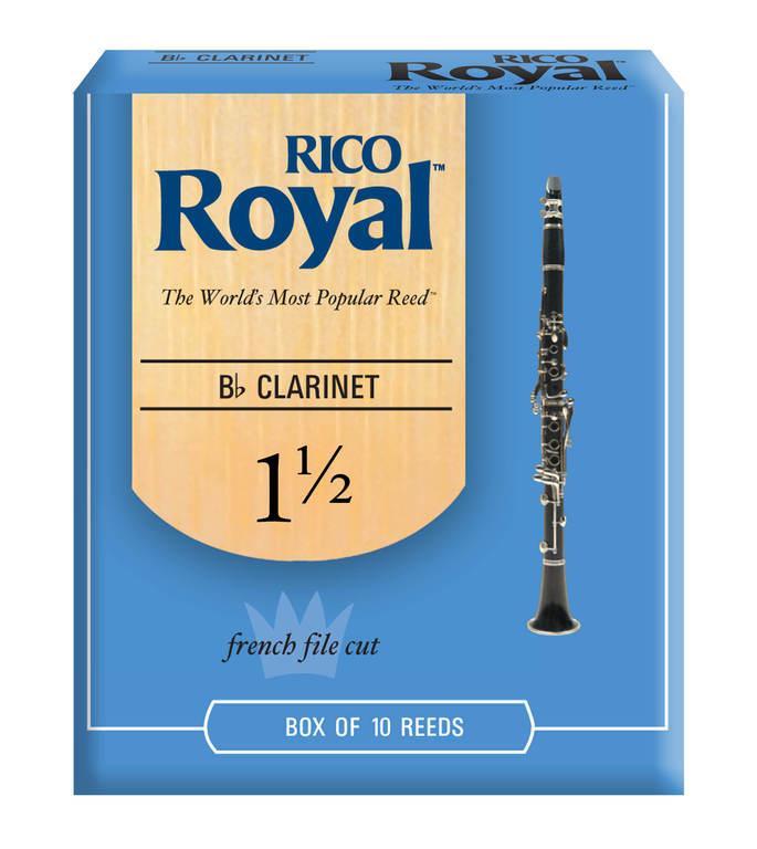 Трость Rico Royal clarinet reeds Bb-Clarinet №1,5
