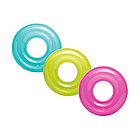 Круг для плавания INTEX Transparent 8+ (59260NP, Винил, 76см)