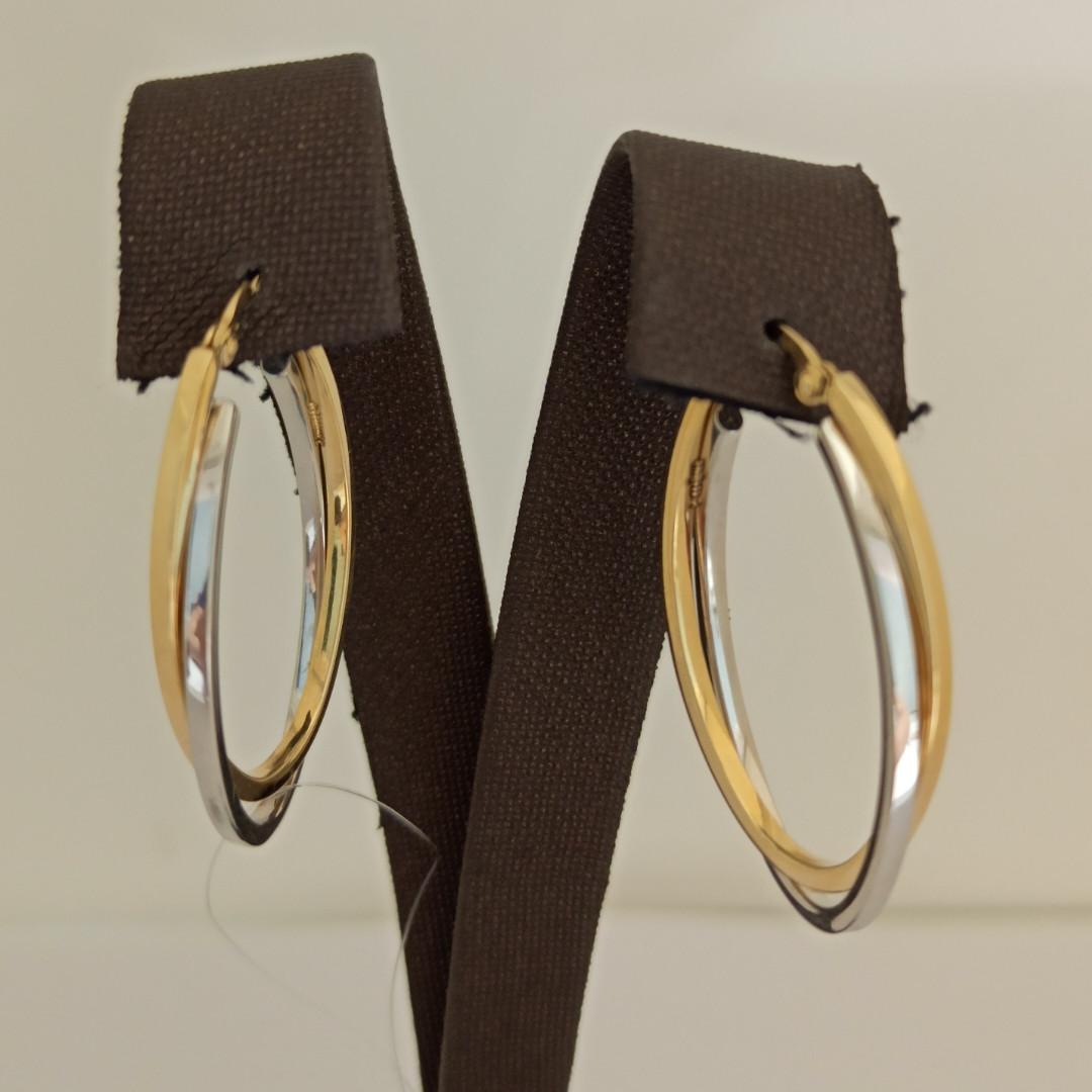 Золотые серьги - конго