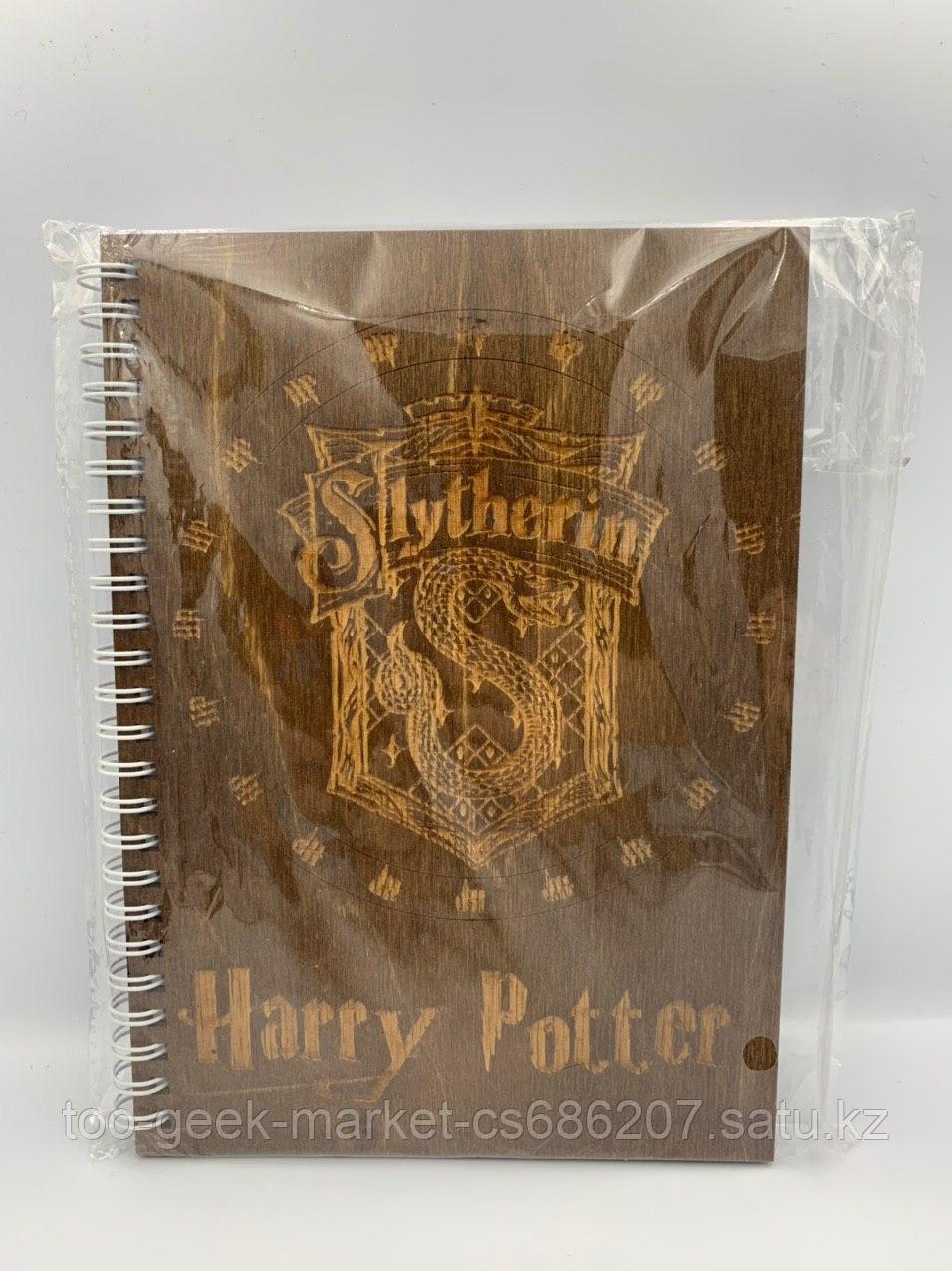 """Блокнот """"Гарри Поттер"""" (стилизация под дерево)"""