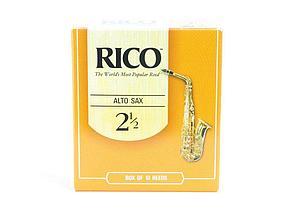Трости для саксофона Альт RICO №2,5