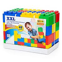 Полесье Конструктор строительный XXL, 45 элементов