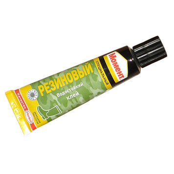 МОМЕНТ Резиновый клей для твердой и вспененной резины, 30 мл