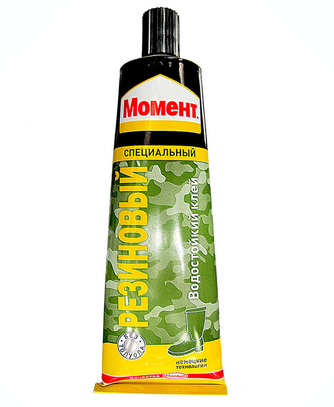 МОМЕНТ Резиновый клей для твердой и вспененной резины, 125 мл