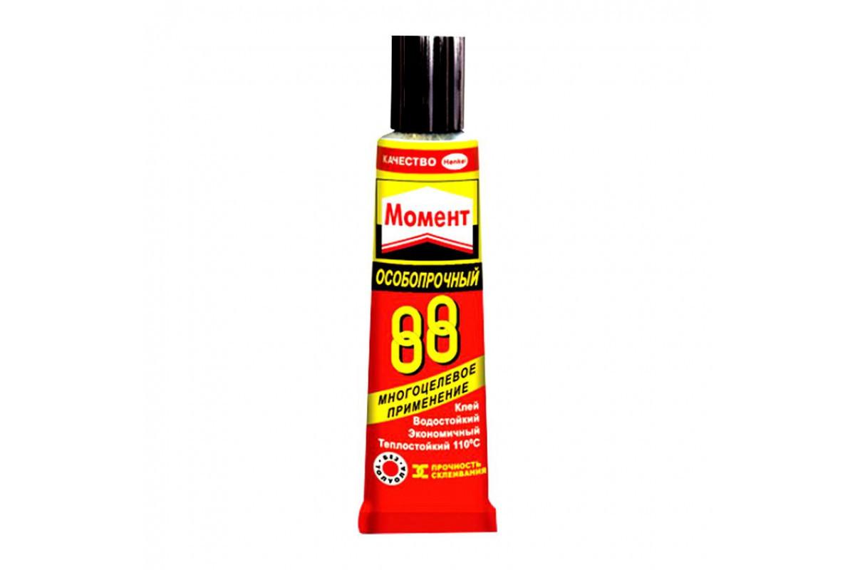 МОМЕНТ 88 Особопрочный Теплостойкий универсальный клей 30 мл