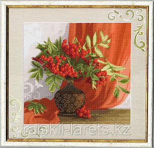 """Набор для вышивания крестом """"Красный натюрморт"""" по мотивам фото Луизы Гельтс СЖ-020"""