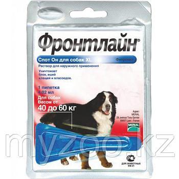 Фронтлайн Спот Он для собак от 40 до 60 кг, 4,02 мл.