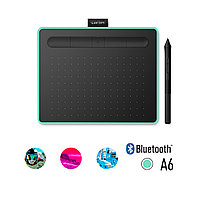 Графический планшет, Wacom, Intuos Small Bluetooth (CTL-4100WLE-N)