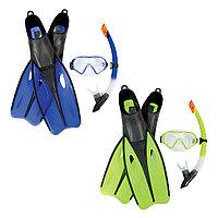 Набор для плавания Bestway 25021 в упаковке: маска, трубка, ласты