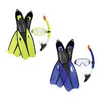 Набор для плавания Bestway 25023 в упаковке: маска, трубка, ласты