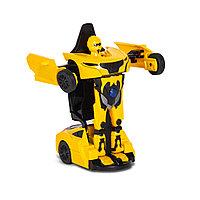 Металлический Трансформер RASTAR 61810Y 1:32 RS-MEN Transformable car Жёлтый