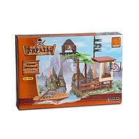 Игровой конструктор Ausini 27406 Пираты Остров Пиратов 171 деталь Цветная коробка