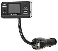 FM-Модулятор Defender RT-PRO Пульт ДУ  USB для зарядки   , фото 1